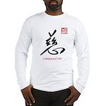 Kanji Compassion Long Sleeve T-Shirt