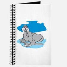 Walrus on ice Journal