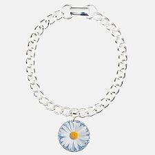 daisy Charm Bracelet, One Charm