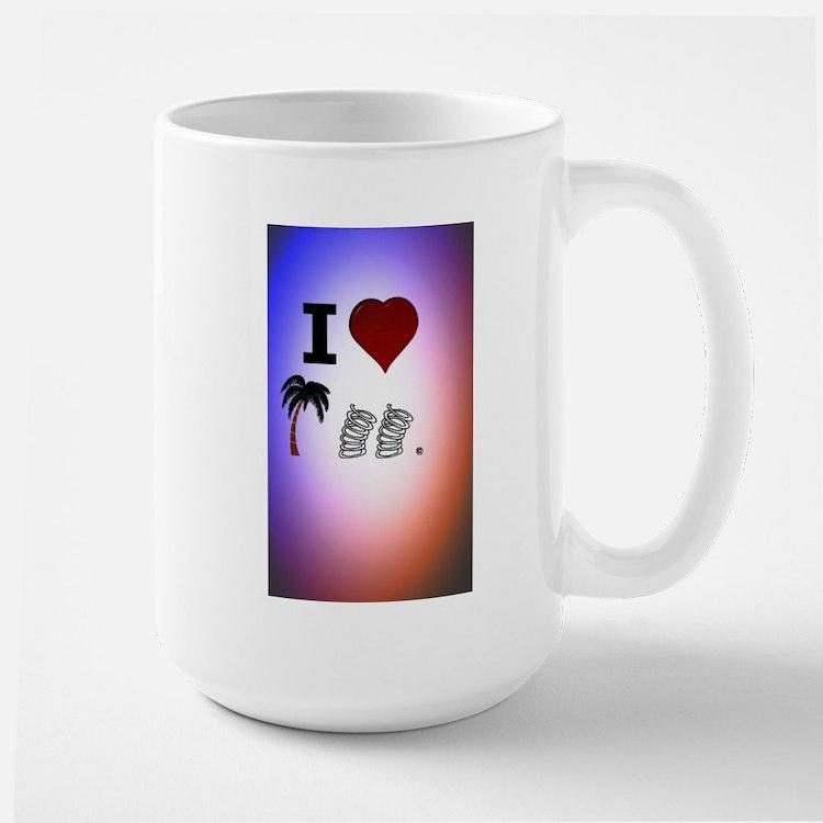 I Heart Palm Springs Mugs