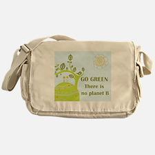 Cute Go green Messenger Bag
