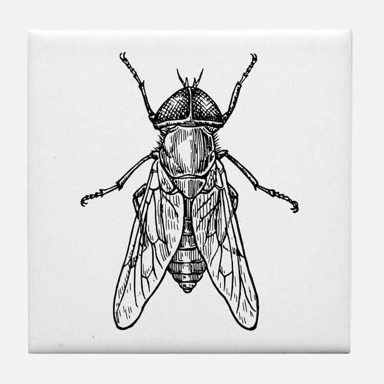 Gadfly Tile Coaster