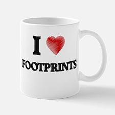 I love Footprints Mugs