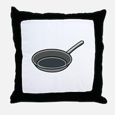Frying Pan Throw Pillow