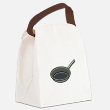Frying Pan Canvas Lunch Bag