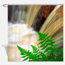 Ferrous thermal water Shower Curtain