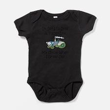 Unique Kids tractor Baby Bodysuit
