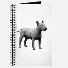 Bullterrier grayscale Journal