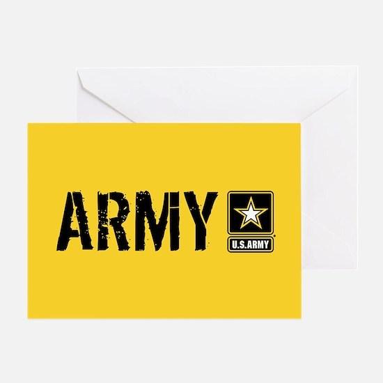 U.S. Army: Army (Gold) Greeting Card