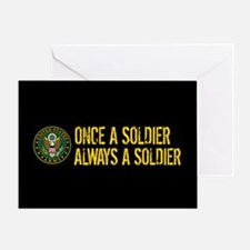 U.S. Army: Once a Soldier, Always a Greeting Card