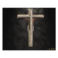 Crucifixion (Back) 20x16 Poster Print