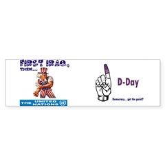 Give the Finger to Iraq, UN's Next Bumper Bumper Sticker