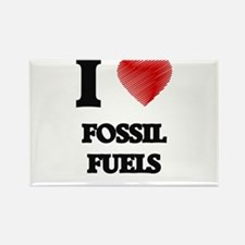 I love Fossil Fuels Magnets