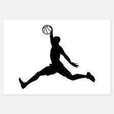 Basketball Player sports Invitations