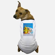 Happy Easter Chick + Bunny Dog T-Shirt