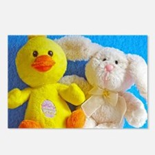 Happy Easter Chick + Bunny Postcards (Package of 8
