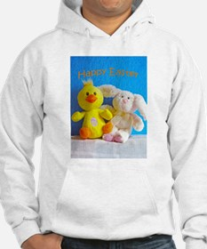 Happy Easter Chick + Bunny Hoodie