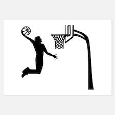 Basketball Player Invitations