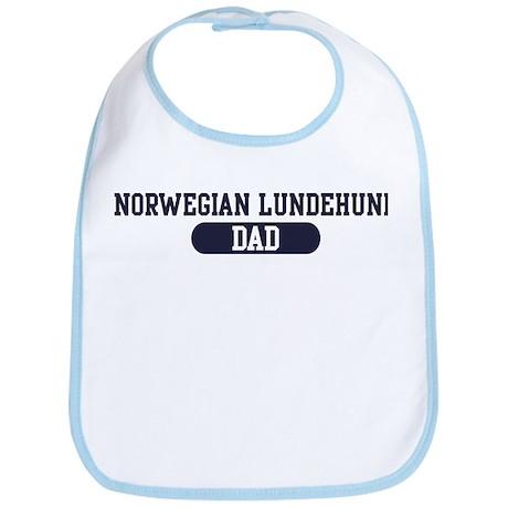 Norwegian Lundehund Dad Bib