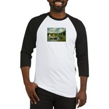 Monet's Bridge Baseball Jersey