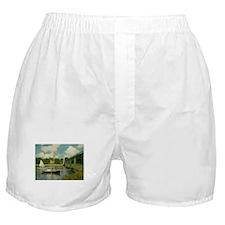 Monet's Bridge Boxer Shorts