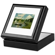 Monet's Bridge Keepsake Box
