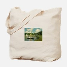 Monet's Bridge Tote Bag