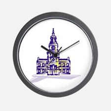 Independence hall Wall Clock