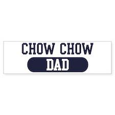 Chow Chow Dad Bumper Bumper Sticker
