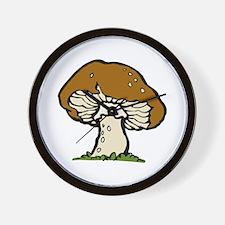 Big Mushroom Wall Clock