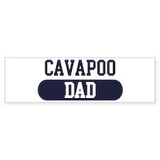 Cavapoo Dad Bumper Bumper Sticker