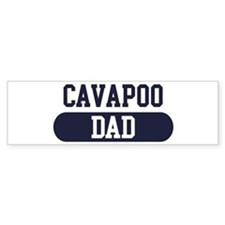 Cavapoo Dad Bumper Car Sticker