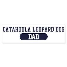 Catahoula Leopard Dog Dad Bumper Bumper Sticker