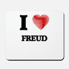 I love Freud Mousepad