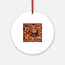 Unique Javanese Round Ornament