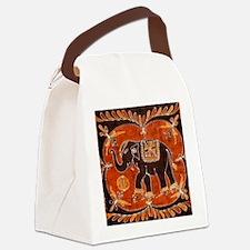 Cute Javanese Canvas Lunch Bag