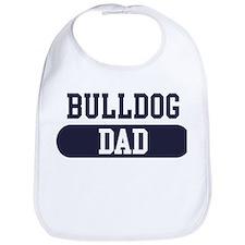 Bulldog Dad Bib
