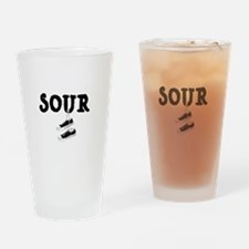 Sour Shoes Howard Stern Drinking Glass