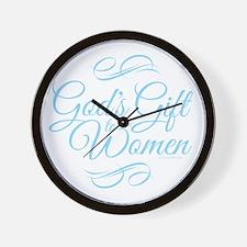Gods Gift to Women Wall Clock