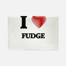 I love Fudge Magnets