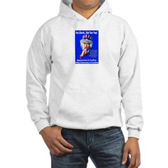 Liberal Pacifists Delay Democracy Hoodie
