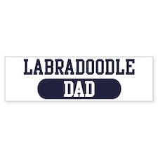 Labradoodle Dad Bumper Bumper Sticker