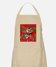 Spring Revival Abstract Easter Art Apron