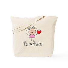 Cute TEACHER Tote Bag