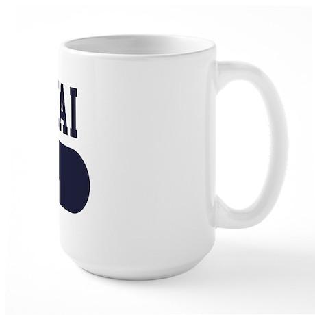 Klee Kai Dad Large Mug