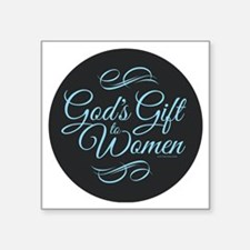 Gods Gift to Women Sticker