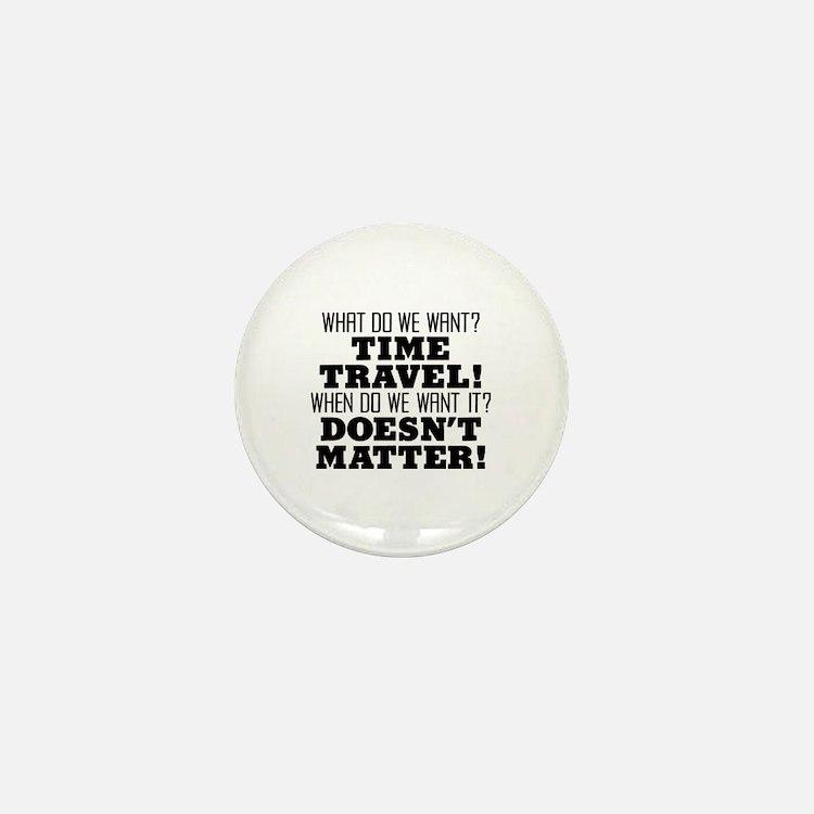 Time Travel Mini Button