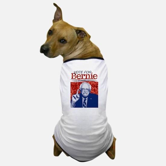 sequin vote for bernie sanders Dog T-Shirt