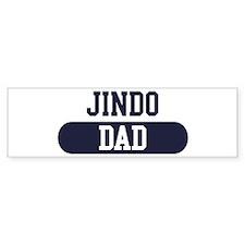 Jindo Dad Bumper Bumper Sticker