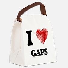 Cute Defile Canvas Lunch Bag